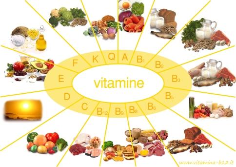 Les vitamines dans notre alimentation